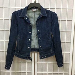 Levi's Engineered Jeans Denim Jacket Women's Size Small Vintage Medium Wash